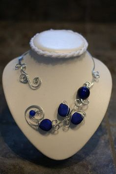 ROYAL BLUE FOR HOLIDAY *** ROYAL BLUE CHRISTMAS GIFTS par BIJOUX LIBELLULE sur Etsy