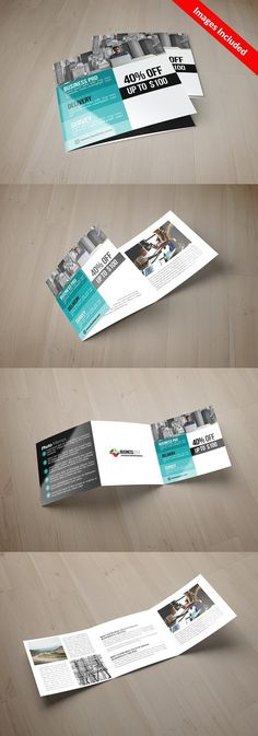 Wedding Tri Fold Brochure Tri fold brochure, Tri fold and Brochures