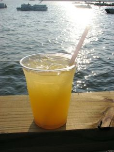 My new fav drink. Stoli orange, triple sec, sprite and the juice from one orange = a summer delight called Orange crush!