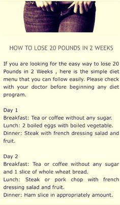 How To Lose 20 Pounds In 2 Weeks !  #Health #Fitness #Trusper #Tip