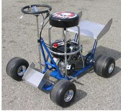 Ladies and Gentleman...start your bar stools! Get the how-to's on building your own bar stool racer.