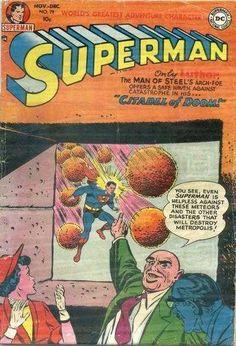 1952-11 - Superman Volume 1 - #79 - Citadel of Doom #SupermanFan #SupermanComics #Superman #ComicBooks  #DCComics
