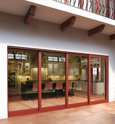 Accent Your Patio With These Stacking Glass Walls Or Patio Doors. Perfect  For The Indoor Outdoor Living Trend.