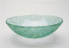 Sabia Round Glass Vessel Sink, $315 on www.artisancraftedlighting.com