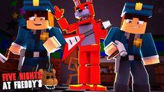 Minecraft: FIVE NIGHTS AT FREDDY'S #56 - CRIAMOS UM ANIMATRONIC!