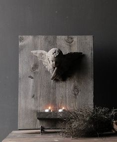 Engelen - New Ideas Wabi Sabi, Christmas Time, Woodworking Projects, Home And Garden, Pure Products, Holiday Decor, Prints, Cement, Interior Ideas