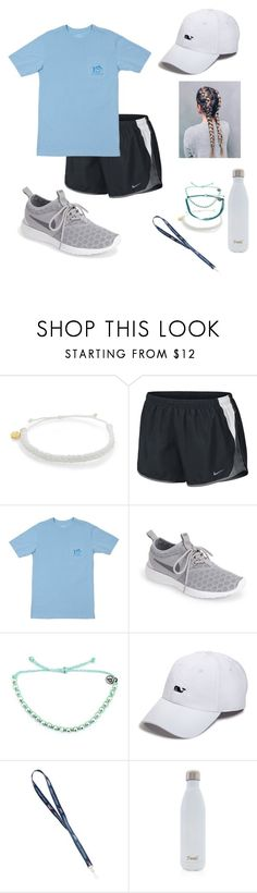 """""""Day 5: bike ride on the boardwalk"""" by dancem27 ❤ liked on Polyvore featuring Pura Vida, NIKE, Southern Tide, Vineyard Vines and S'well"""
