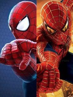 Spider-man 2002 and the amazing spiderman 2 2014