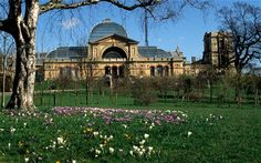 Alexandra Palace, must see it since it has my name in it! Reviews say it's beautiful on the inside and to look at the views of London.
