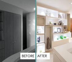 A Contemporary Moody Home - Residential Interior Design Project in Aventura, Florida - #InteriorDesign #InteriorDesigners #Interiors #Decoration #Remodel
