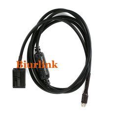 Car AUX Input Adapter Cable For BMW Z4 E85 X3 E83 E39 E60 E61 E63 E64 Female 3.5MM Jack