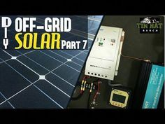 Complete Video Tutorial On Setting Up Your Own Off Grid Solar Power… – Eco Snippets Off Grid Solar Power, Solar Energy Panels, Best Solar Panels, Solar Energy System, Solar Roof Tiles, Solar Inverter, Solar House, Solar Panel Installation, Panel Systems