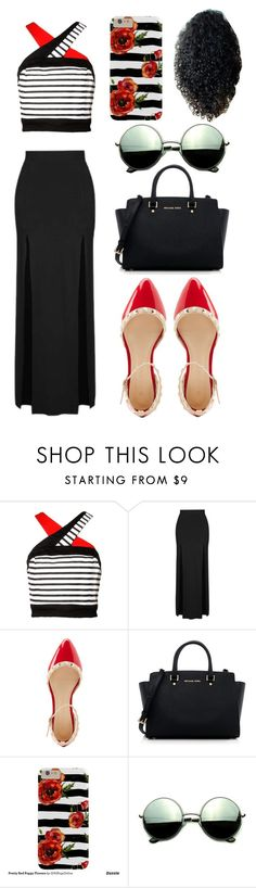 """""""Casual"""" by rhianna-alexandre on Polyvore featuring Topshop, Charlotte Russe, MICHAEL Michael Kors and Revo"""
