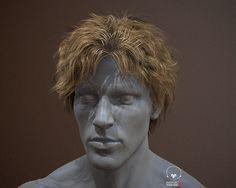 ArtStation - Real-time rendering of hair, Chen Wang