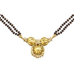 More traditional mangalsutra design