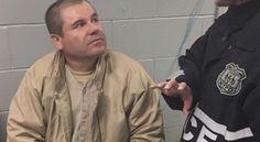 """] NUEVA YORK * 14 de marzo de 2017. El mexicano """"El Chapo"""" Guzmán, durante años el narcotraficante más buscado del mundo, tiene alucinaciones auditivas y su salud empeora en casi total aislamiento en una cárcel de Nueva York, según sus abogados de oficio. La defensa del exjefe narco,..."""