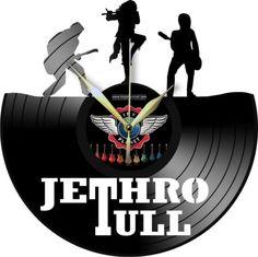 VINYL-PLANET-Wall-Clock-JETHRO-TULL