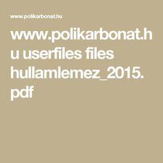 www.polikarbonat.hu userfiles files hullamlemez_2015.pdf Filing, Pdf
