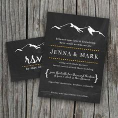 DIY Printable  Wedding Invitation Set with RSVP by themunch, $40.00