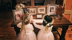 Some sweet little guests signing the guestbook at last weekend's fall wedding. - http://ift.tt/1i1Kl0R