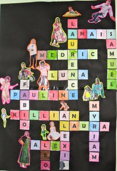 Idea to personalize class display at the start of the year Back To School Art, I School, Middle School, Primary School Art, School Ideas, Classroom Setup, Classroom Design, Class Displays, Back To School Activities
