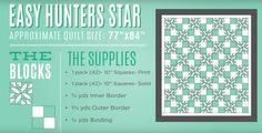 Easy Hunter's Star Quilt Tutorial!