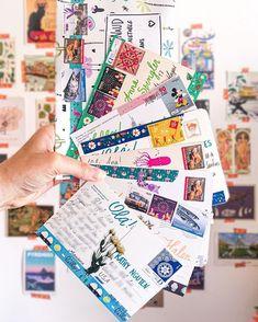 Letters To Boyfriend, Snail Mail Pen Pals, Pen Pal Letters, Thing 1, Happy Mail, Bullet Journals, Journal Inspiration, Scrapbooks, Envelopes