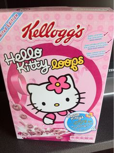 Omg!! Hello Kitty cereal!!!
