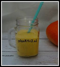 Pompoen smoothie - Slank4u2