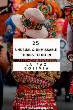 25 Unusual & Unmissable Things To Do In La Paz, Bolivia - Worldly Adventurer Backpacking South America, Backpacking Europe, South America Travel, Europe Travel Tips, Budget Travel, Travel Guide, Europe Packing, Traveling Europe, Packing Lists