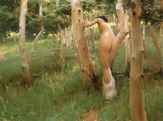 """s, """"Nymphe du Bocage"""" by Jeremy Lipking. His Zorn love really shows. As it grows he becomes ever more a favorite of mine. Figure Painting, Painting & Drawing, Figure Drawing, California Art, Erotic Art, American Artists, Figurative Art, Traditional Art, Contemporary Artists"""