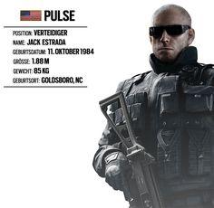 OPERATOR IM RAMPENLICHT #8: PULSE (FBI SWAT EINHEIT) | Rainbow Six® Siege: Neuigkeiten und Aktualisierungen zum Spiel | Ubisoft®
