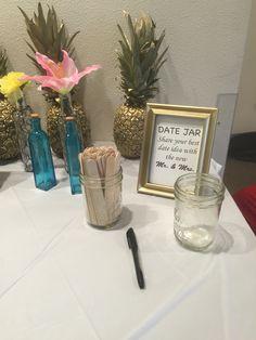 Bridal Shower Gift Ideas For Destination Weddings : ... from Miss to Mrs, Destination wedding bridal shower.. Date night ideas