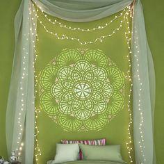 Round Mandala Style Stencil #wallstencil #wallstencils #diystencil #stencilforwalls #wall #stencil #stencils #diy #homedecor #home #decor #walldecor #wall #decor #homedecorideas #decorideas #decor #ideas #stencilslab