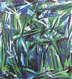 Green forest - Natalia Goncharova