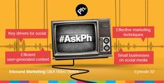 Welcome to our weekly blog series #AskPh. Each week I will answer all of your burning questions that have been asked on Twitter using the hashtag #AskPh.   This week I answer your questions on customer service on social media, instant gratification, small business with social media and man flu.  Watch this week's #AskPh video below.