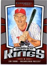 2005 DONRUSS DIAMOND KINGS JIM THOME # DK-19 #' ED 957/2005 in Sports Mem, Cards & Fan Shop, Cards, Baseball | eBay $0.01