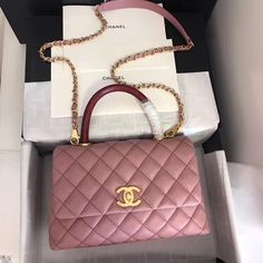 There are lots of luxury and well designed Chanel bags in the stores this season. I mean, who doesn't like a Chanel bag? Chanel Purse, Chanel Handbags, Purses And Handbags, Chanel Bags, Luxury Purses, Luxury Bags, Luxury Handbags, Sacs Design, Designer Crossbody Bags