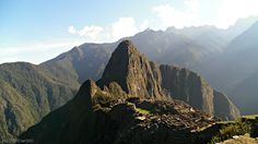 Probably the very first picture of Machu Picchu I took 2 years ago.
