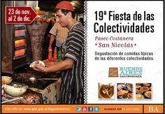 19ª Fiesta de las Colectividades en San Nicolás