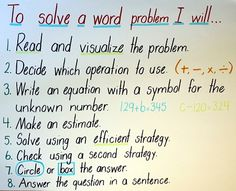 Math anchor charts can provide a source of visual reference to support student thinking, reasoning and problem solving. 3rd Grade Words, 3rd Grade Math, Second Grade, Math Charts, Math Anchor Charts, Math Coach, Math Division, Math Challenge, Math Classroom