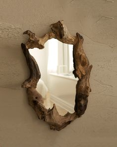 Natural Root Mirror 18w 27h
