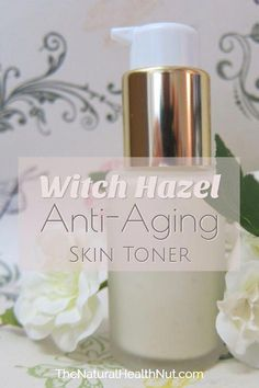 Get this simple Anti-Aging Skin Toner recipe and many other witch hazel uses for skin care. Get this simple Anti-Aging Skin Toner recipe and many other witch hazel uses for skin care. Anti Aging Cream, Anti Aging Skin Care, Skin Care Regimen, Skin Care Tips, Skin Tips, Skin Secrets, Organic Skin Care, Natural Skin Care, Natural Face