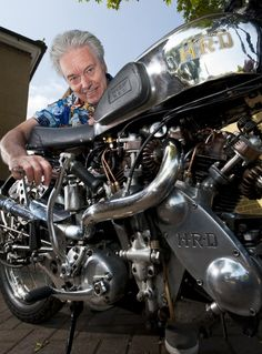 But for Brian Hill, his dream of owning a 1937 Vincent Rapide HRD lay in pieces, literally, for 45 years. American Motorcycles, Vintage Motorcycles, Cars And Motorcycles, Custom Motorcycles, Vintage Cycles, Vintage Bikes, Scooters, Vincent Black Shadow, Vincent Motorcycle