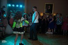 Irish Dancers with the groom