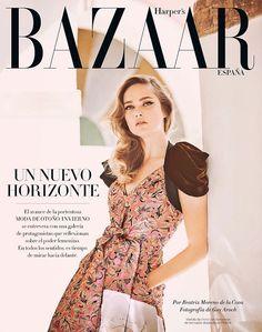 Karmen Pedaru by Guy Aroch for Harper's Bazaar Spain August 2016