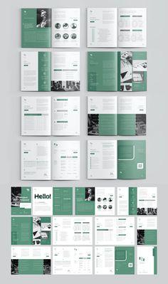 Booklet Design Layout, Brochure Design Layouts, Page Layout Design, Graphic Design Brochure, Magazine Layout Design, Branding Design, Company Brochure Design, Brochure Template, Mises En Page Design Graphique