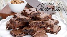 Brownies con almendras tostadas de SILVIA VALDEMOROS