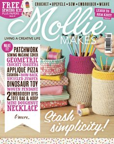 Your project templates for Mollie Makes issue 49 are ready to download.