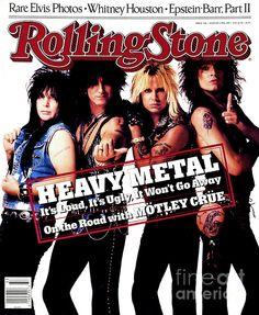 rolling stone magazine cover, motley crue.     lj